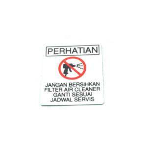 Label A-C Element Notice 87509KWWA40
