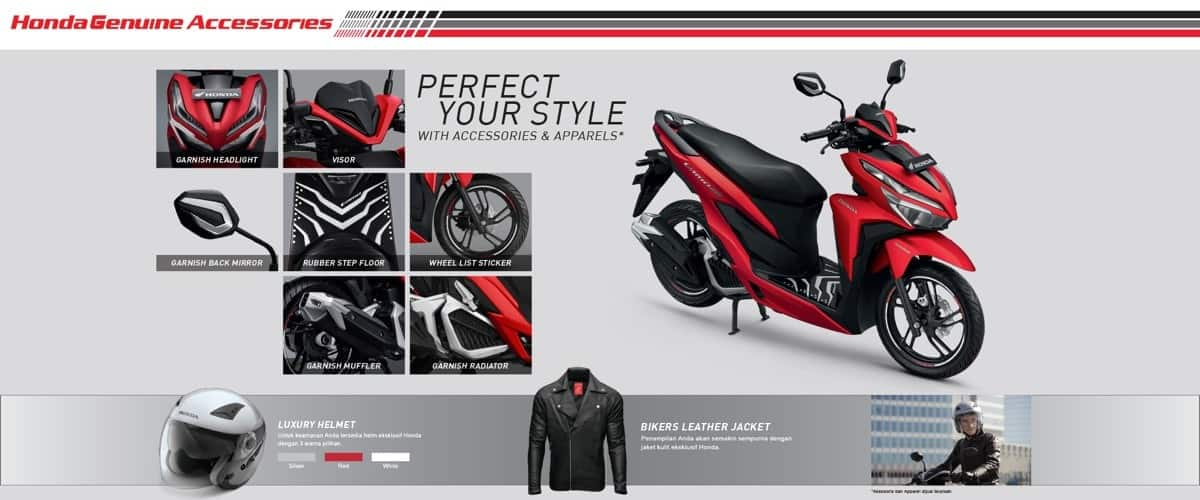 Aksesoris Honda Vario 125 eSP & Honda Vario 150 eSP K59J