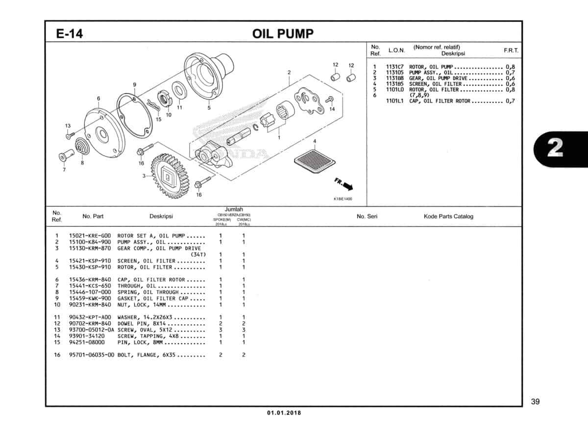 E-14-Oil-Pump-Katalog-CB150-Verza