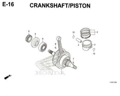E-16-Crankshaft-Piston-CB150-Verza