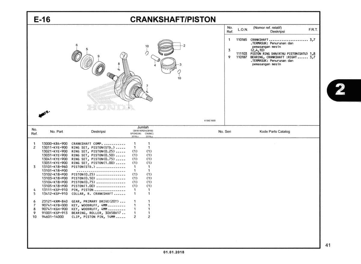 E-16-Crankshaft-Piston-Katalog-CB150-Verza