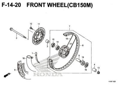 F-14-20-Front-Wheel-(CB150M)-CB150-Verza