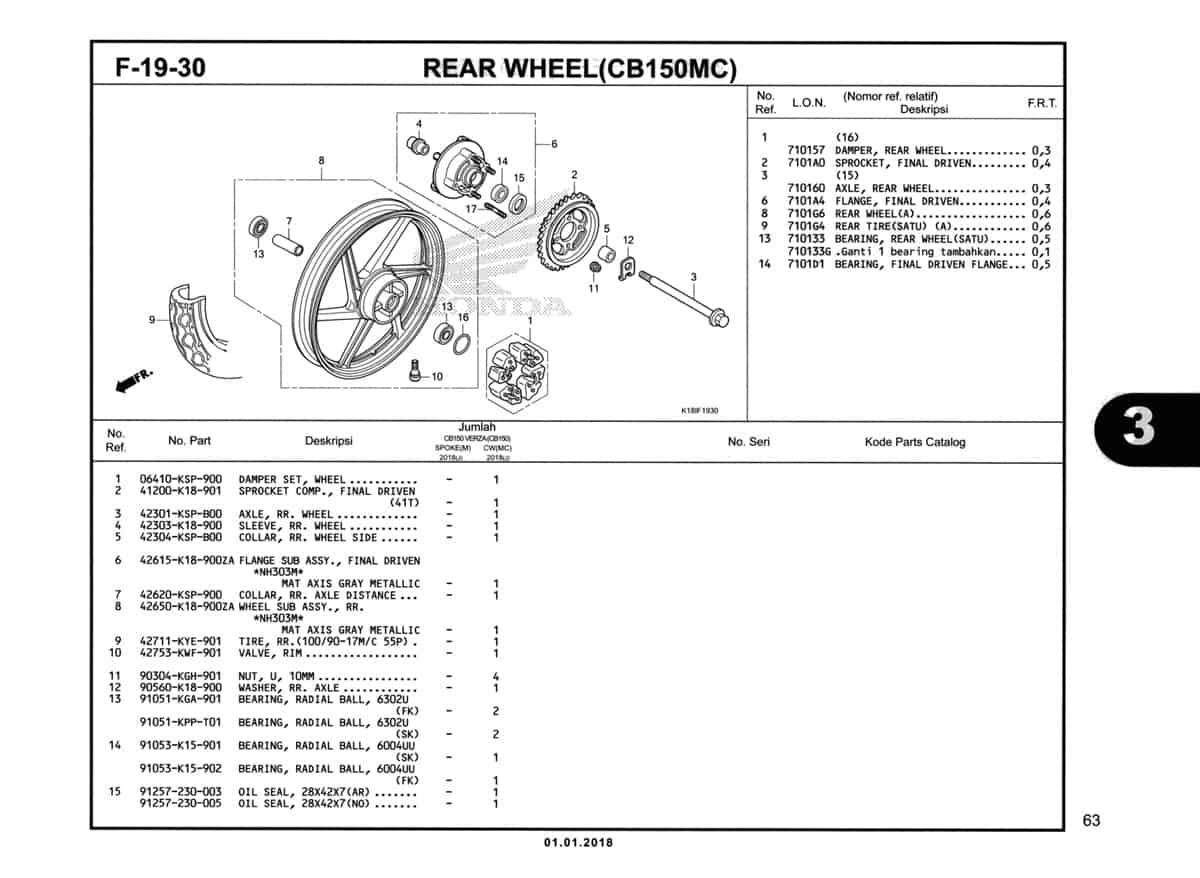 F-19-30-Rear-Wheel-(CB150MC)-Katalog-CB150-Verza
