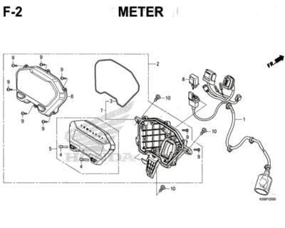 F2 – Meter – Katalog Honda New Vario 150 K59J