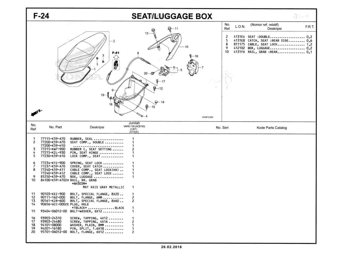 F-24-Seat-Luggage-Box-Katalog-New-Vario-150-K59J