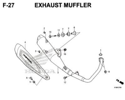 F-27-Exhaust-Muffler-CB150-Verza