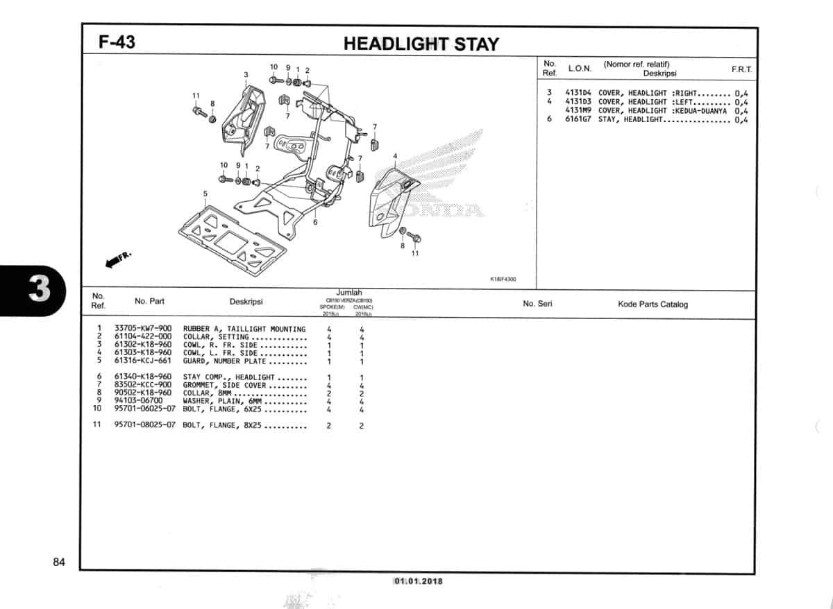 F-43-Headlight-Stay-Katalog-CB150-Verza