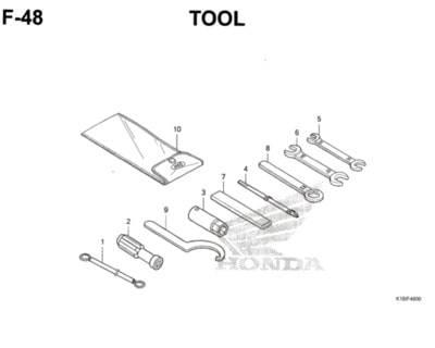 F48 – Tool – Katalog Honda CB150 Verza