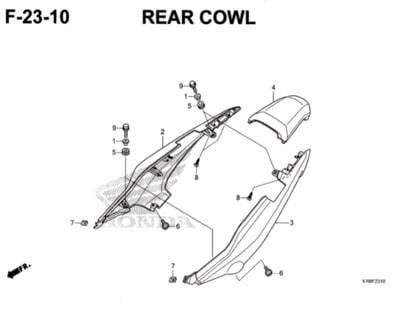F23-10-Rear-Cowl-CB150-Verza
