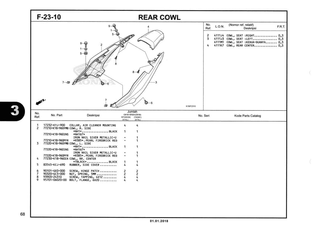 F23-10-Rear-Cowl-Katalog-CB150-Verza