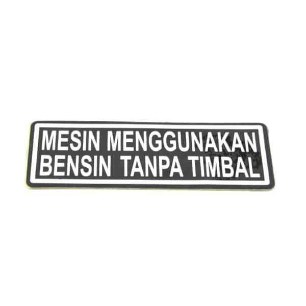 Label Fuel 87586KVB930