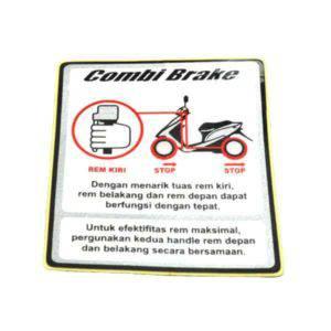 Sticker,Combi Brake 87563K59A10