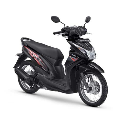 Honda BeAT FI Spoke Black
