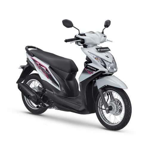Honda BeAT FI Spoke White