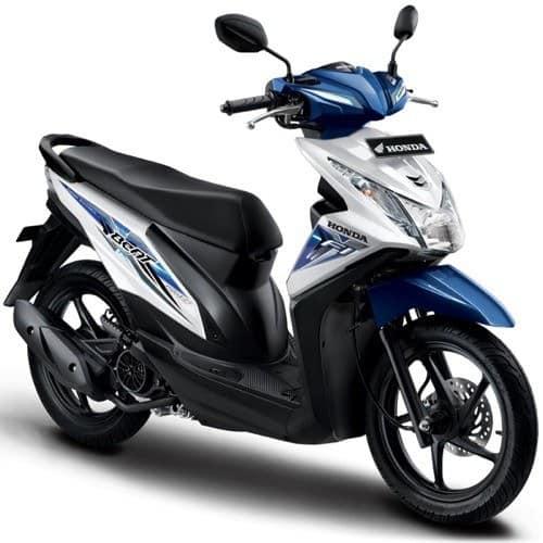 Honda BeAT eSP White Blue