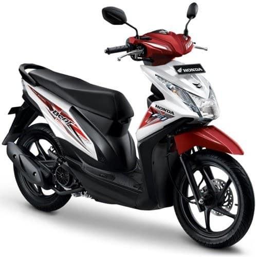 Honda BeAT eSP White Red