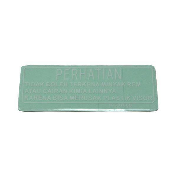 Label, Visor Caution 87522KCJ660