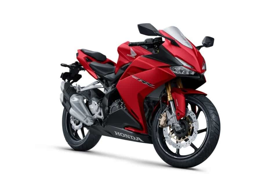 New Honda CBR250RR Bravery Mat Red