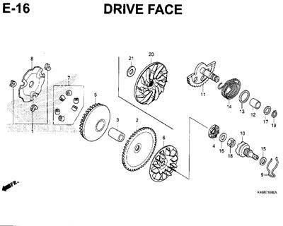 E16 – Drive Face – Katalog Honda New Vario 110