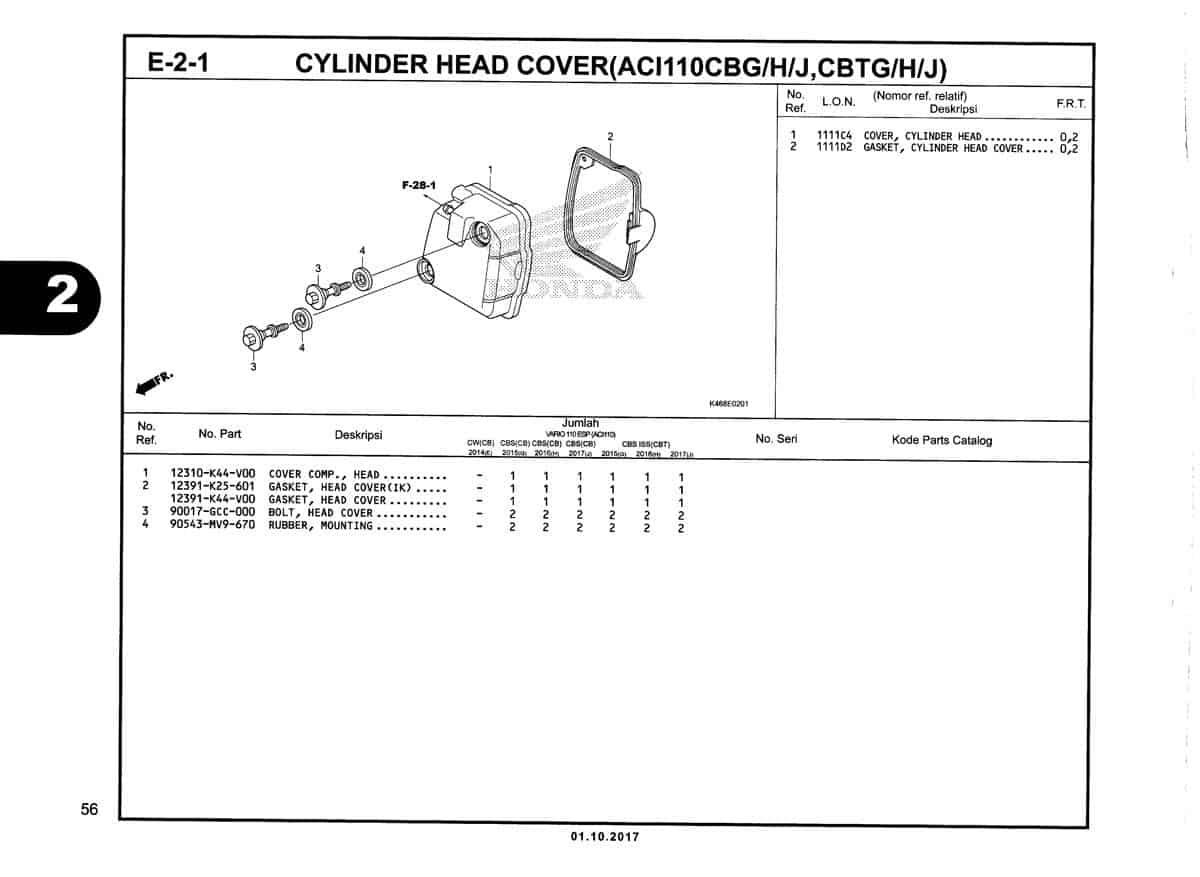 E-2-1-Cylinder-Head-Cover-(ACI110CBG-H-J,CBTG-H-J)-Katalog-New-Vario-110