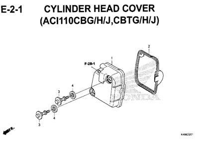 E-2-1-Cylinder-Head-Cover-(ACI110CBG-H-J,CBTG-H-J)-New-Vario-110