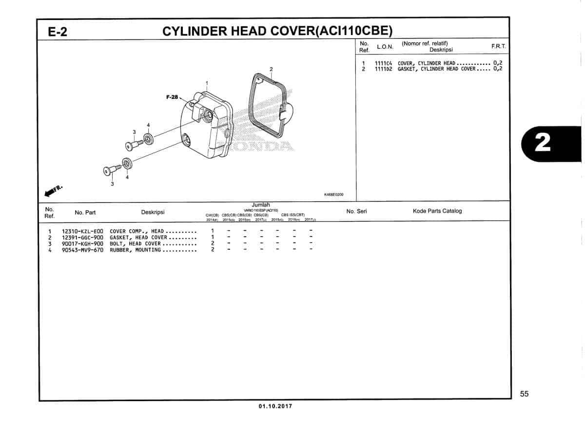 E-2-Cylinder-Head-Cover-(ACI110CBE)-Katalog-New-Vario-110
