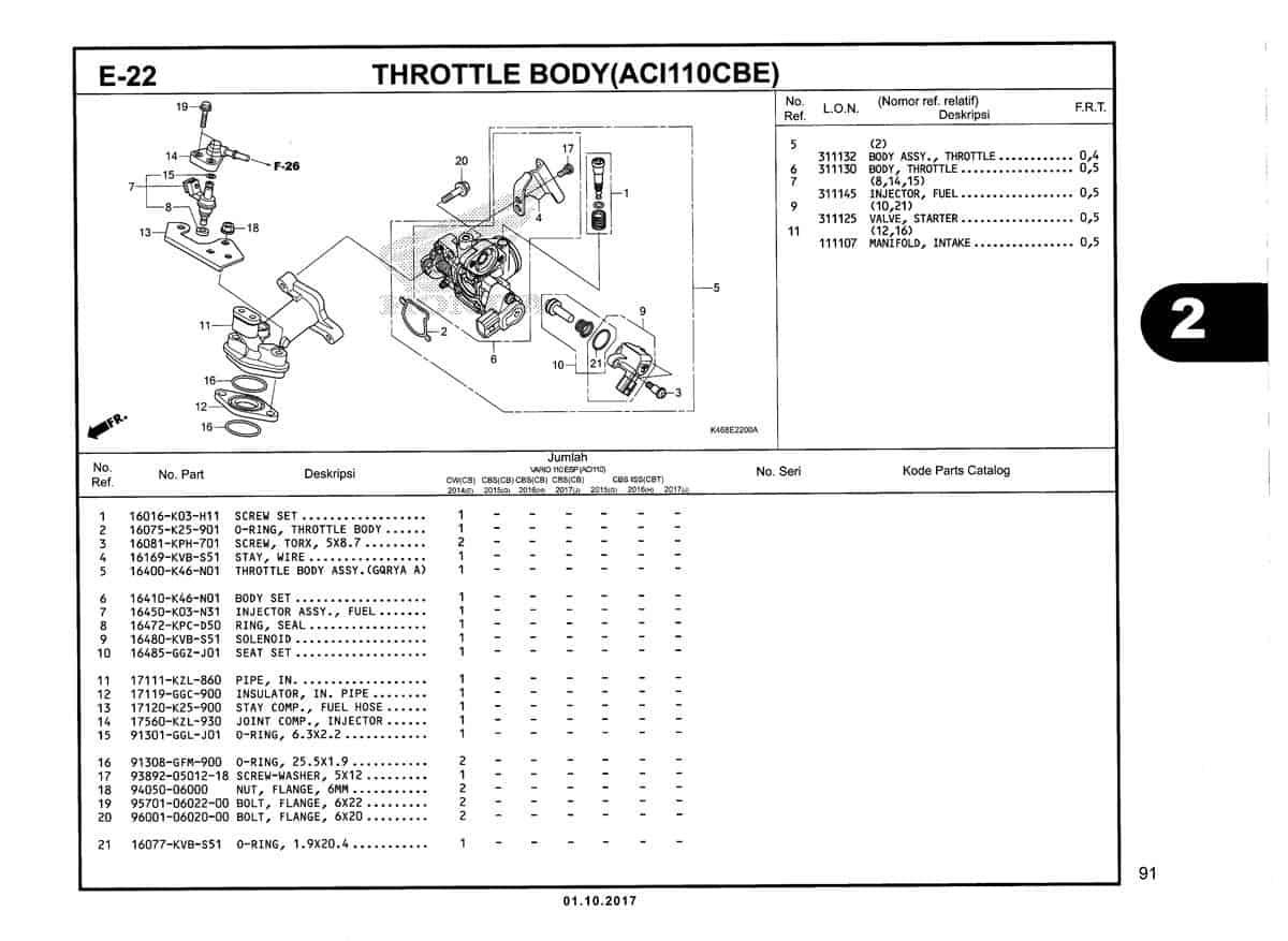 E-22-Throttle-Body-(ACI110CBE)-Katalog-New-Vario-110