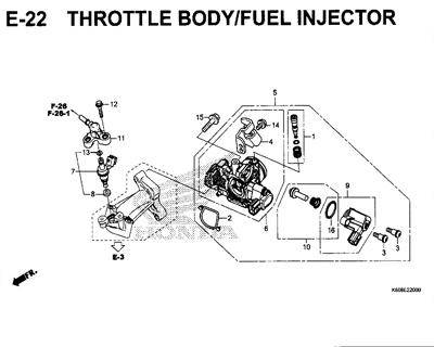 E-22-Throttle-Body-Fuel-Injector-New-Vario-125-K60R