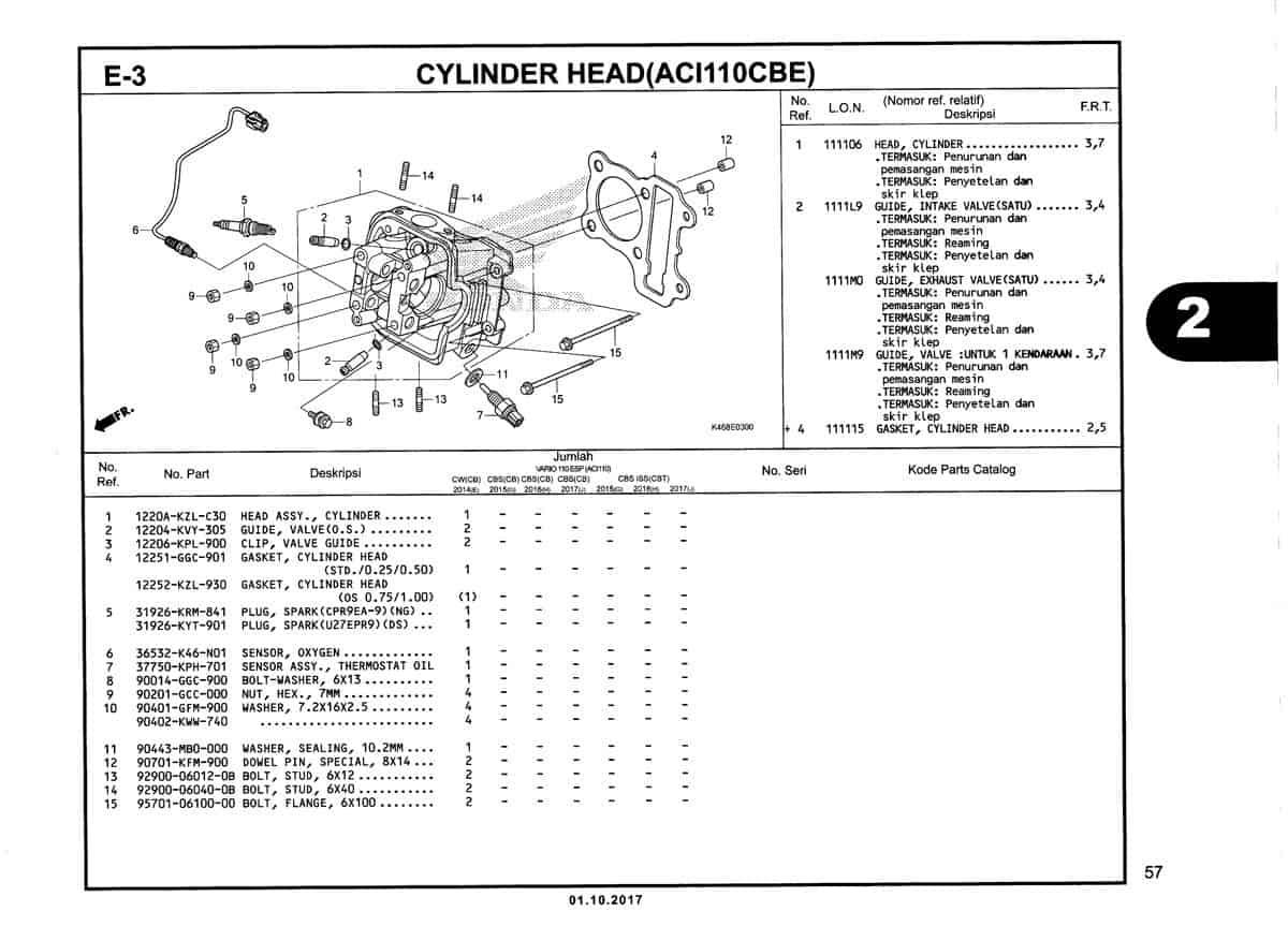 E-3-Cylinder-Head-(ACI110CBE)-Katalog-New-Vario-110