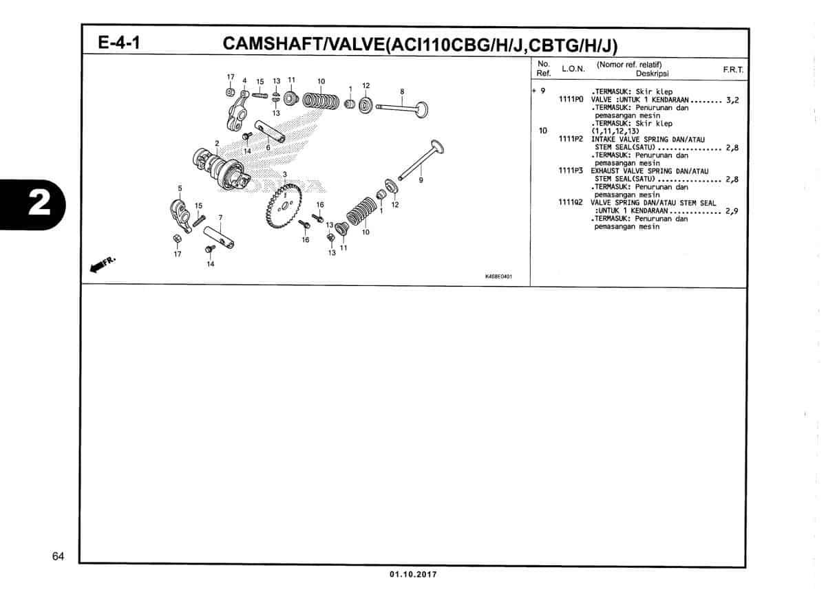 E-4-1-Camshaft/Valve-(ACI110CBG/H/J,CBTG/H/J)-Katalog-New-Vario-110