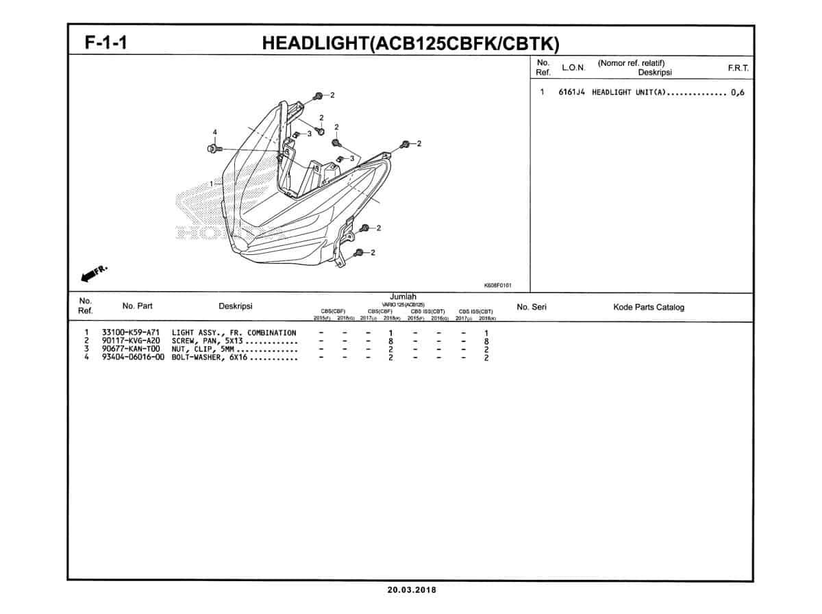 F-1-1-Headlight-(ACB125CBFK-CBTK)-Katalog-New-Vario-125-K60R