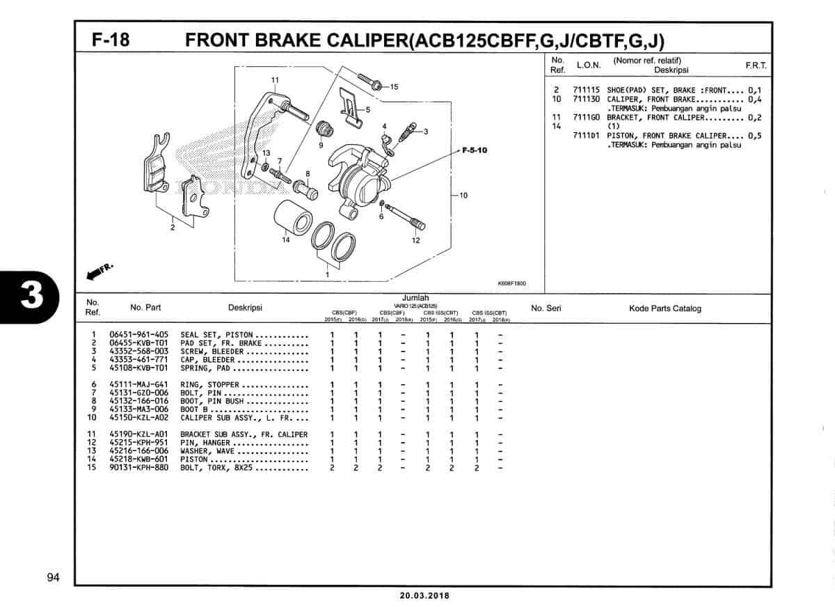 F-18-Front-Brake-Caliper-(ACB125CBFF,G,J-CBTF,G,J)-Katalog-New-Vario-125-K60R