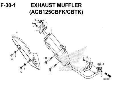 F-30-1-Exhaust-Muffler-(ACB125CBFK-CBTK)-New-Vario-125-K60R