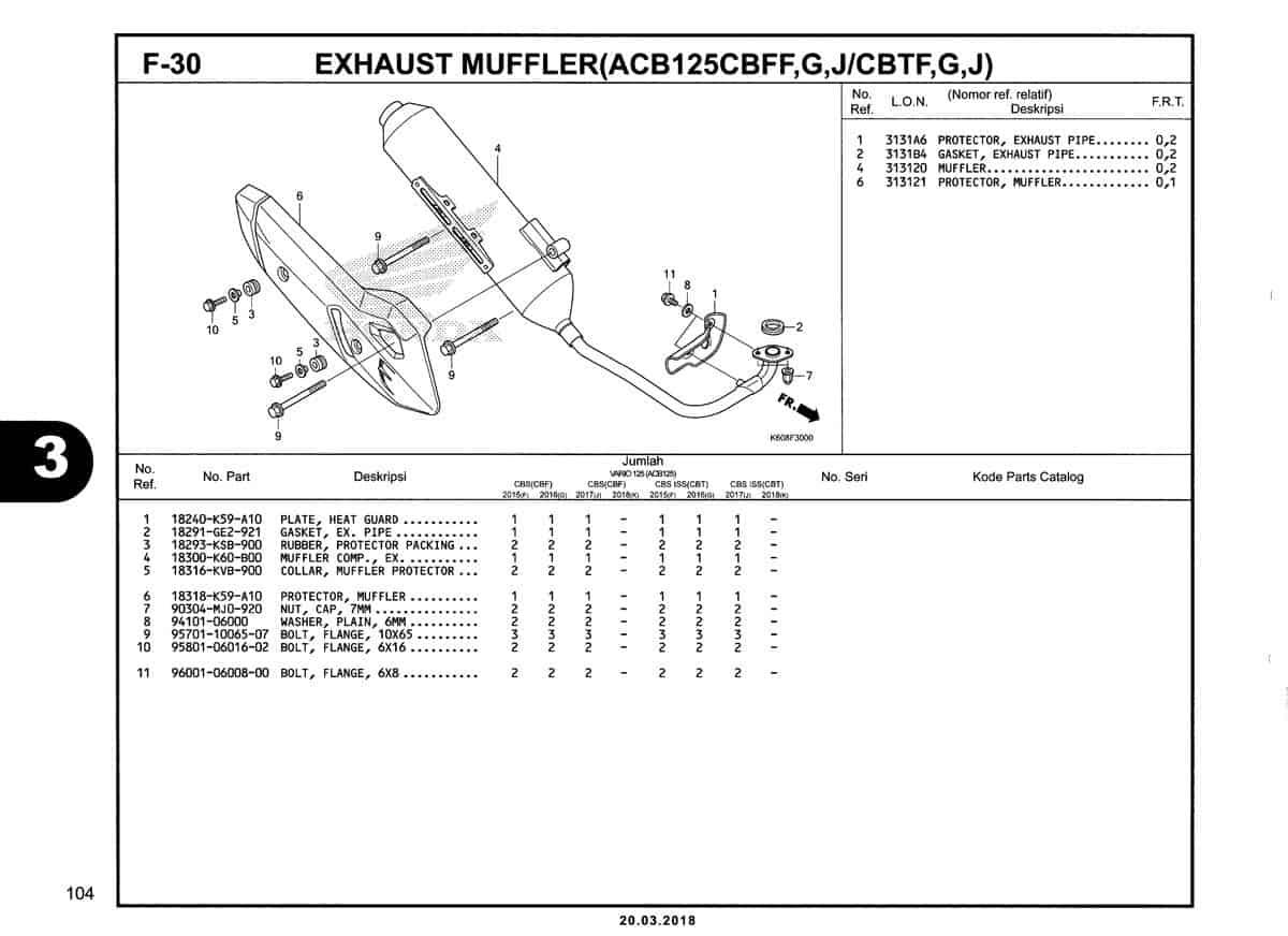 F-30-Exhaust-Muffler-(ACB125CBFF,G,J-CBTF,G,J)-Katalog-New-Vario-125-K60R