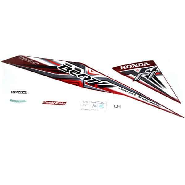 Stripe Set L Red 871X0K25600ZBL