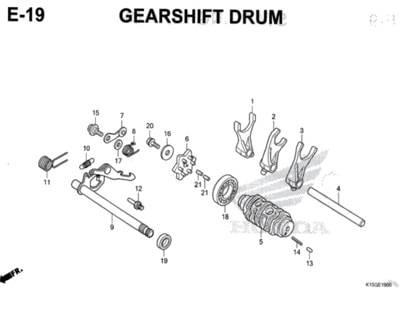 E-19-Gearshift-Drum-CB150R