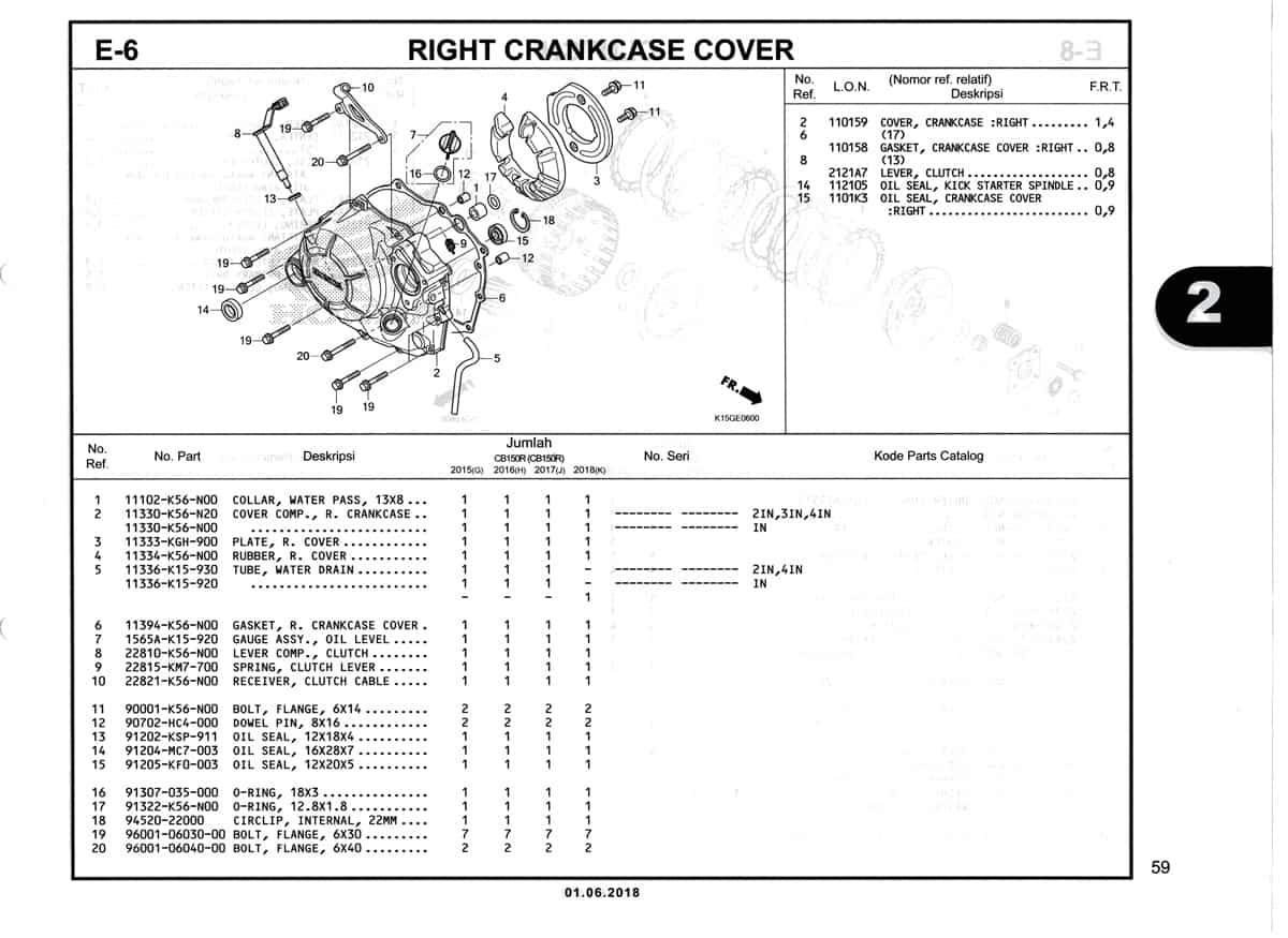 E-6-Right-Crankcase-Cover-Katalog-New-CB150R