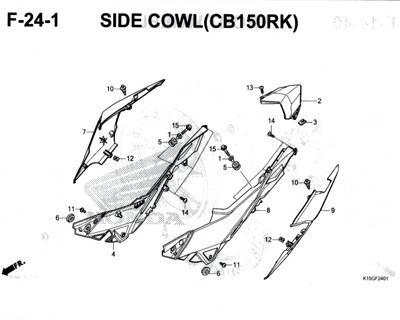 F-24-1-Side-Cowl-(CB150RK)-CB150R