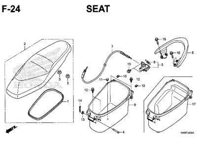 F24 – Seat – Katalog Honda New Vario 110