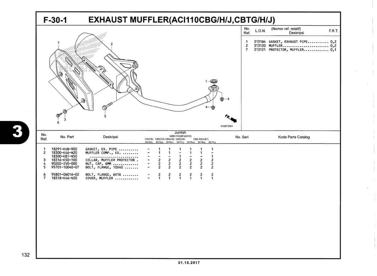 F-30-1-Exhaust-Muffler-(ACI110CBG/H/J,CBTG/H/J)-Katalog-New-Vario-110