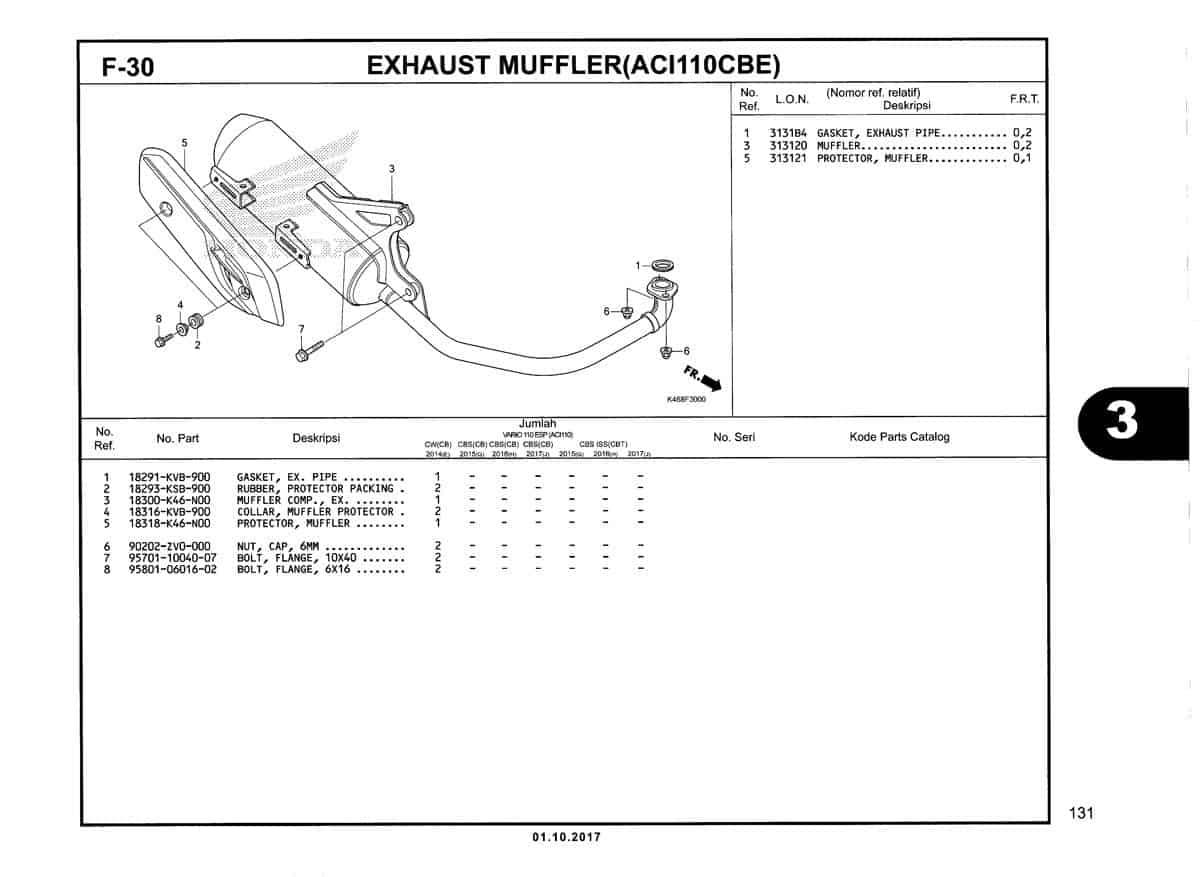 F-30-Exhaust-Muffler-(ACI110CBE)-Katalog-New-Vario-110