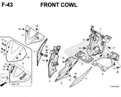 F-43-Front-Cowl-CB150R
