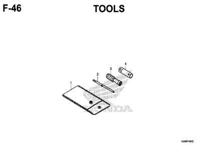 F46 – Tools – Katalog Honda New Vario 110