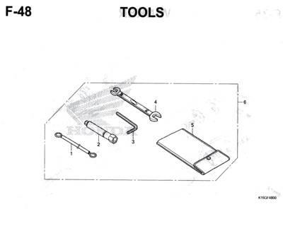 F48 – Tools – Katalog Honda New CB150R StreetFire K15M