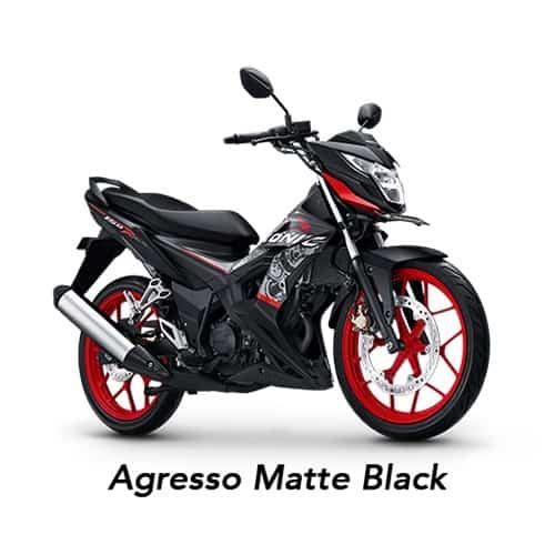 Honda Sonic Agresso Matte Black
