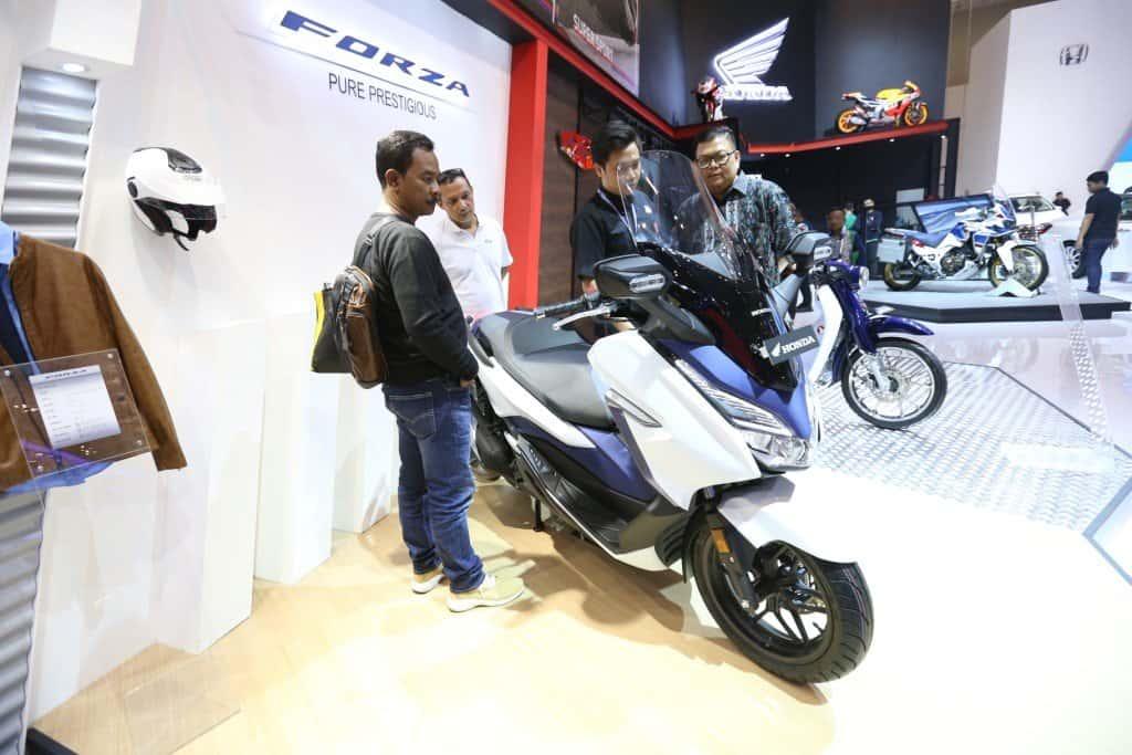 Peluncuran Honda Forza