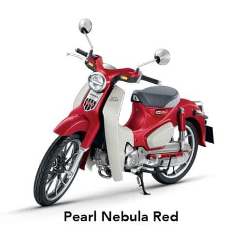 Super Cub C125 Pearl Nebula Red