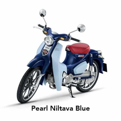 Super Cub C125 Pearl Niltava Blue