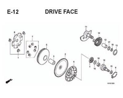 E12 – Drive Face – Katalog Honda BeAT Karbu KVY