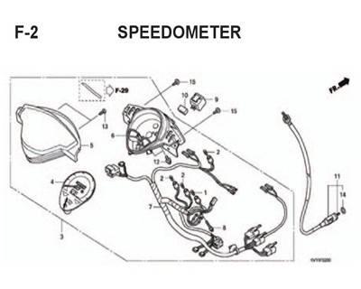 F2 – Speedometer – Katalog Honda BeAT Karbu KVY